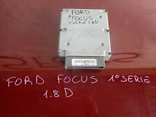 CENTRALINA MOTORE FORD FOCUS 1.8 D 1°SERIE COD 1S4F-12A650