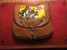 Vintage Original Lone Ranger Saddle Bag School Bag