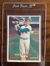 1957 Topps Duke Snider #170 - NM/EX Condition!