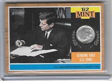 PRESIDENT JOHN F KENNEDY JFK 2011 TOPPS HERITAGE '62 MINT US DIME COIN
