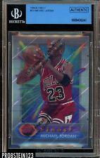 1994-95 Topps Finest Michael Jordan HOF Rare 23 Jersey w/ Coating BGS Authentic