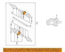 GM OEM Drive Axles-Rear-Boot Kit Clamp 88891068