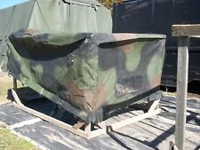 MILITARY SURPLUS CARGO COVER FITTED VEHICLE 2 MAN CREW TRUCK TRAILER M998 HMMWV