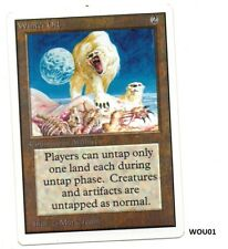MRM ENGLISH Winter Orb Front NM- Back NM WOU01 MTG magic UNLIMITED