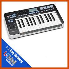 Samson Graphite 25 USB MIDI Keyboard Controller | Semi Weighted Keys |