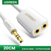 Ugreen Audio Klinke Y Splitter Kabel 3,5mm Stereo Klinkenstecker für iPhone,LG