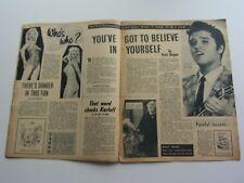 Picturegoer ORIG Reino Unido Revista Octubre 12 1957 ELVIS PRESLEY roy orbison