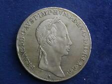 1/2 Taler 1830 A Wien Franz I. Östereich / Ungarn    W/18/276