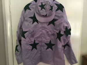 Frankie Dettori autographed racing silks
