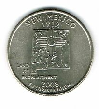2008-D Brilliant Uncirculated US New Mexico 47TH State Quarter Coin!