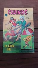 "VTG 1975 MEXICAN COMIC CHANOC # 841 ""EL GRAN GOL"" SOCCER FOOTBALL PARODY"