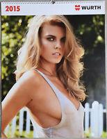 Würth Kalender 2015 Calendar Neuwertig Maryna Linchuk Sara Sampaio Like New