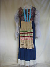 "Womens Fancy Dress - Period, wench, maid, used, 36/37"" bust, 34"" waist - 2500"