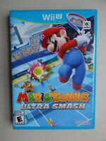 Mario Tennis: Ultra Smash Game Complete! Nintendo Wii U