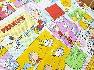 "Peanuts Cartoon cotton print fabric - 60"" inch 150cm wide - per metre"