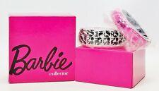Barbie Collector Acrylic Bangle Bracelet Gift Set New