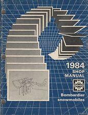 1984 BOMBARDIER SNOWMOBILE SHOP MANUAL P/N 484 0492 00 (301)