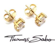 Thomas Sabo Ohrstecker vergoldetes 925er Sterling Silber H1739-414-14