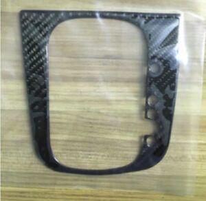 Auto Gear Shift Panel Real Carbon Fiber Cover Sticker For VW Scirocco 09-14