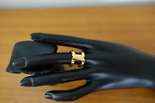 TORY BURCH GEMINI LINK RING IN GOLD COLOR. NEW
