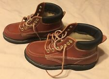 Ramrods Leather Boots Brown Men's Size 9