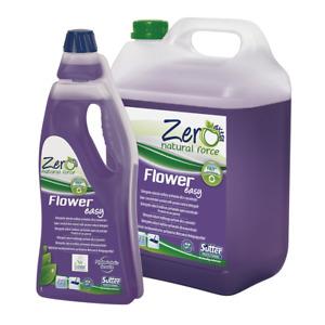 Flower Fácil Limpiador Natural Hidroalcohólico Perfumado Concentrado Zero 5 KG