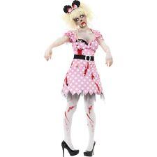 Halloween Costume Zombie Mouse Ladies Horror Minnie Gruselkostüm