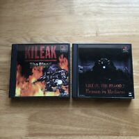 KILEAK THE BLOOD 1 & 2 Bundle - PS1 Playstation 1 - Japan JPN -