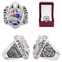 2016 OFFICIAL New England Patriots Championship Ring #BRADY Super Bowl Size 8-13