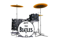 Ringo Starr's Drum Kit from the Shea Stadium concert Greeting Card A5 size