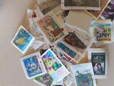 Various Australian postage stamps - 1 KILO