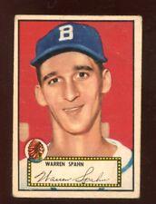 1952 TOPPS WARREN SPAHN #33 (300.00)  VGEX  UT613