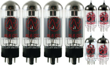 Tube Set - for Fender Showman Blackface and Silverface JJ APEX Matched