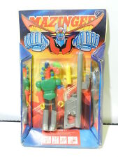 MAZINGER Z ACTION FIGURE GELBROS J 3 1985 BRAND PLAY FUL SEALED IN CARD RARE