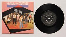 "DARYL HALL & JOHN OATES. FAMILY MAN. ORIGINAL 1983 RCA 7"" SINGLE WTH COVER"