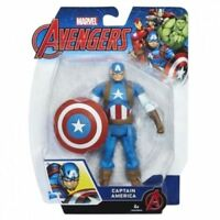 CAPITAN AMERICA ACTION FIGURES 15 CM MARVEL AVENGERS PERSONAGGIO ARTICOLATO