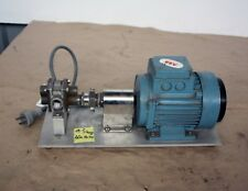 """ECO Pulsafeeder Gearchem positive displacement pump 1/2"""" ports 0.3kw ABB Motor"""