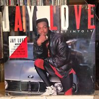 [RAP]~EXC LP~JAY LOVE~Get Into It~[Original 1989~ORPHEUS]~
