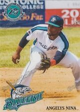 2017 Bridgeport Bluefish Angelys Nina Atlantic League Independent
