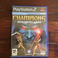 Champions: Return to Arms - Jeu PS2 SANS DISC