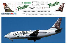 1/144 PAS-DECALS. REVELL. ZVEZDA. Decal for Boeing 737-200 FRONTIER