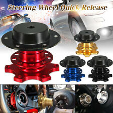 Universal Steering Wheel Quick Release HUB Racing Adapter Snap Off Boss Kit AU