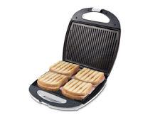 Tostiera Tostapane Elettrico Piastra Toast Antiaderente 1300w Beper 90.620
