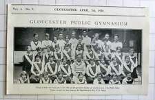 1928 12th Annual Gymnastic Display At The Public Bath's, Gloucester PH Allen