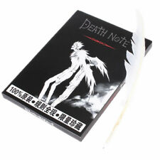 Death Note Notebook Yagami Light Quill-pen Feather Pen Journal Diary Stationery