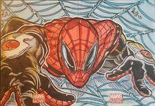 2013 Spiderman Marvel Now UD Upper Deck Original Art Sketch Card Authentic 1/1