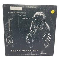 Orig EDGAR ALLAN POE Spine Tingling Tales Macabre NIGHTMARE #36 LP RANDOM VG