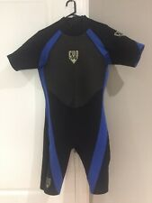 Men's Evo XXL Blue & Black Wetsuit! 3mm!