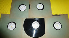 "Mario Lanza 5X10"" 78 rpm Lot COME ALL YE FAITHFUL, AWAY IN A MANGER, TEMPTATION"