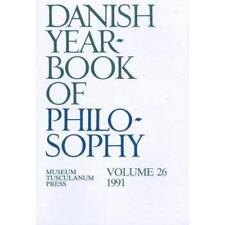 Danish Yearbook of Philosophy - Paperback NEW  1991-12-31